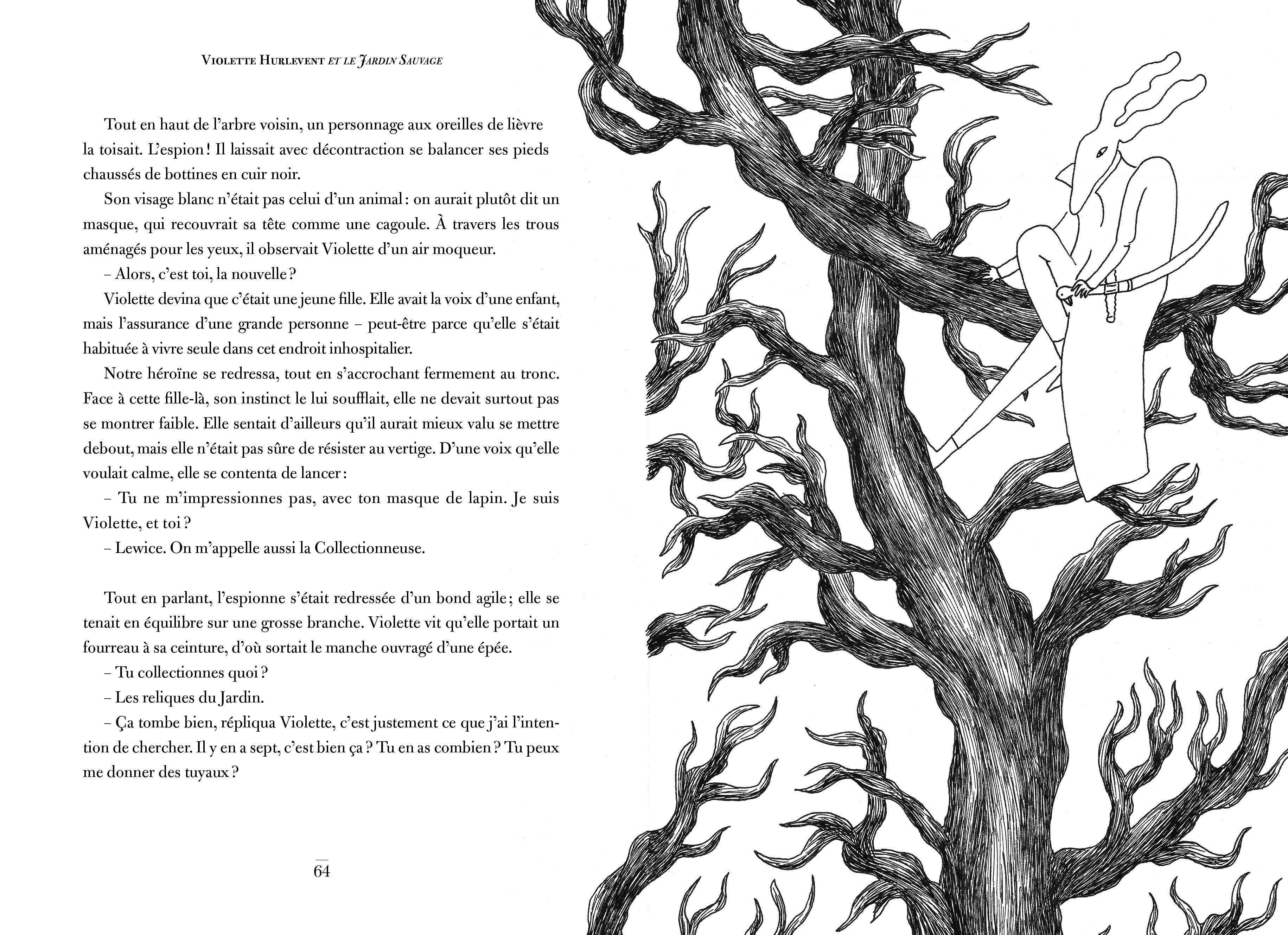 Violette Hurlevent et le Jardin sauvage_p64-65
